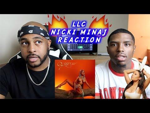 LLC X NICKI MINAJ | IS SHE DISSING SAFAREE? | REACTION