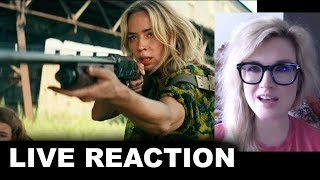 A Quiet Place 2 Trailer REACTION