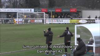 Sutton United vs. Wealdstone FC (01/01/15)