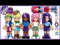 LEGO My Little Pony Equestria Girls Mane 6 custom minidolls