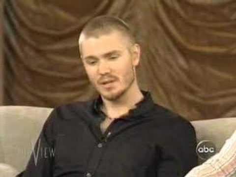 Chad Michael Murray on the view