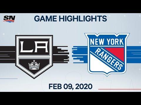 NHL Highlights | Kings Vs Rangers – Feb. 09, 2020