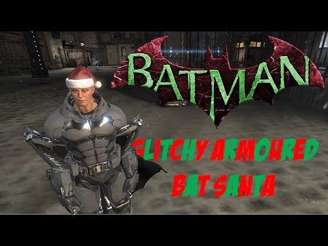 Batman: Arkham Origins - Glitchy Armoured Bat Santa |