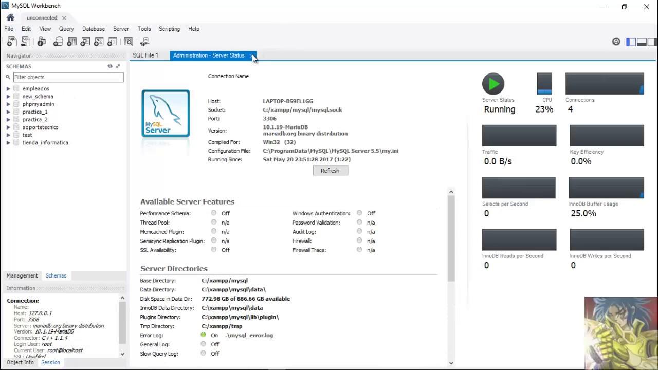 Crear Diagrama Entidad Relaci U00f3n En Mysql Workbench 6 3