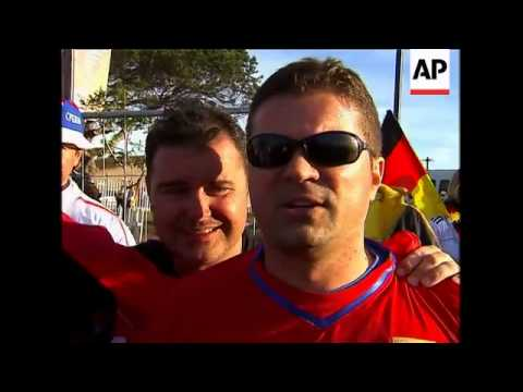 Post match reax after Serbia beats 10-man Germany 1-0 in World Cup
