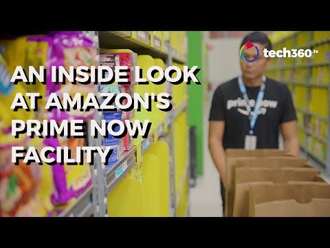Shopping magic begins at Amazon's Prime Now facility