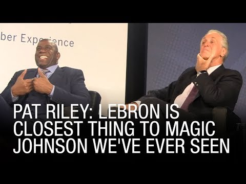 Pat Riley: LeBron Is Closest Thing To Magic Johnson We've Ever Seen