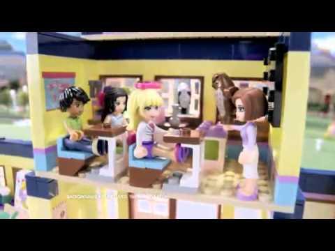 Lego friends (подружки) настоящий lego для девочек, сочетает классическую игру в куклы с конструированием купить в интернет на mytoys. Ru.