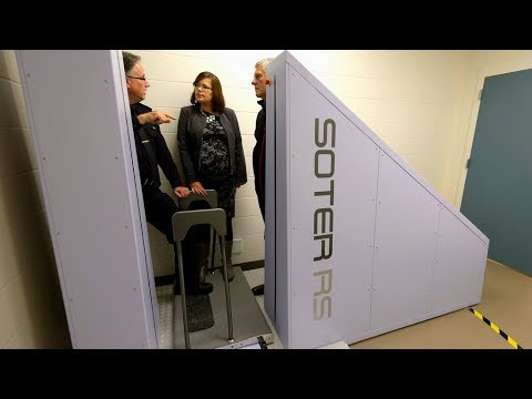 New body scanner to increase safety at Edmonton Remand Centre