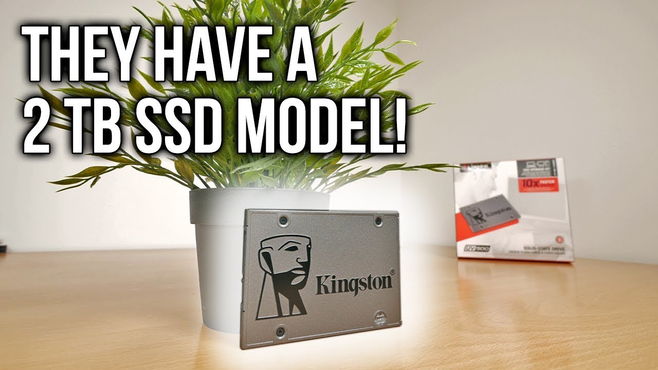 Your Next Ssd Storage Vault Kingston Uv500 Review Youtube