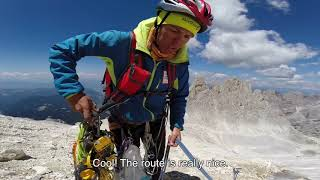 8 Heart Areas of Dolomites. Catinaccio normal rout. EPISODE #6