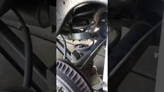 Changing chevelle rear springs