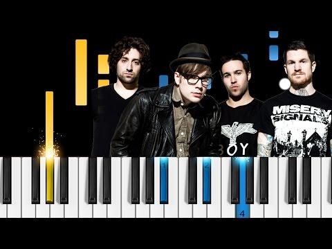 Fall Out Boy - Yule Shoot Your Eye Out - Piano Tutorial
