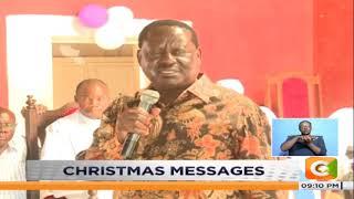 Raila: Put 2022 succession race aside for now