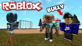ROBLOX MOVIE - DONUT THE DOG IS THE HIGH SCHOOL BULLY