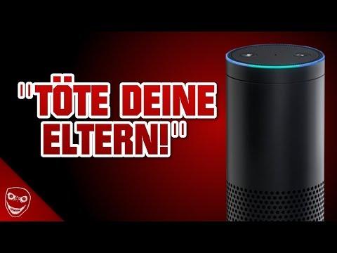 Amazon Alexa befiehlt zu morden! Amazon Echo wird gruseliger!