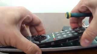 Open remote control RM-ED012 SONY BRAVIA TV