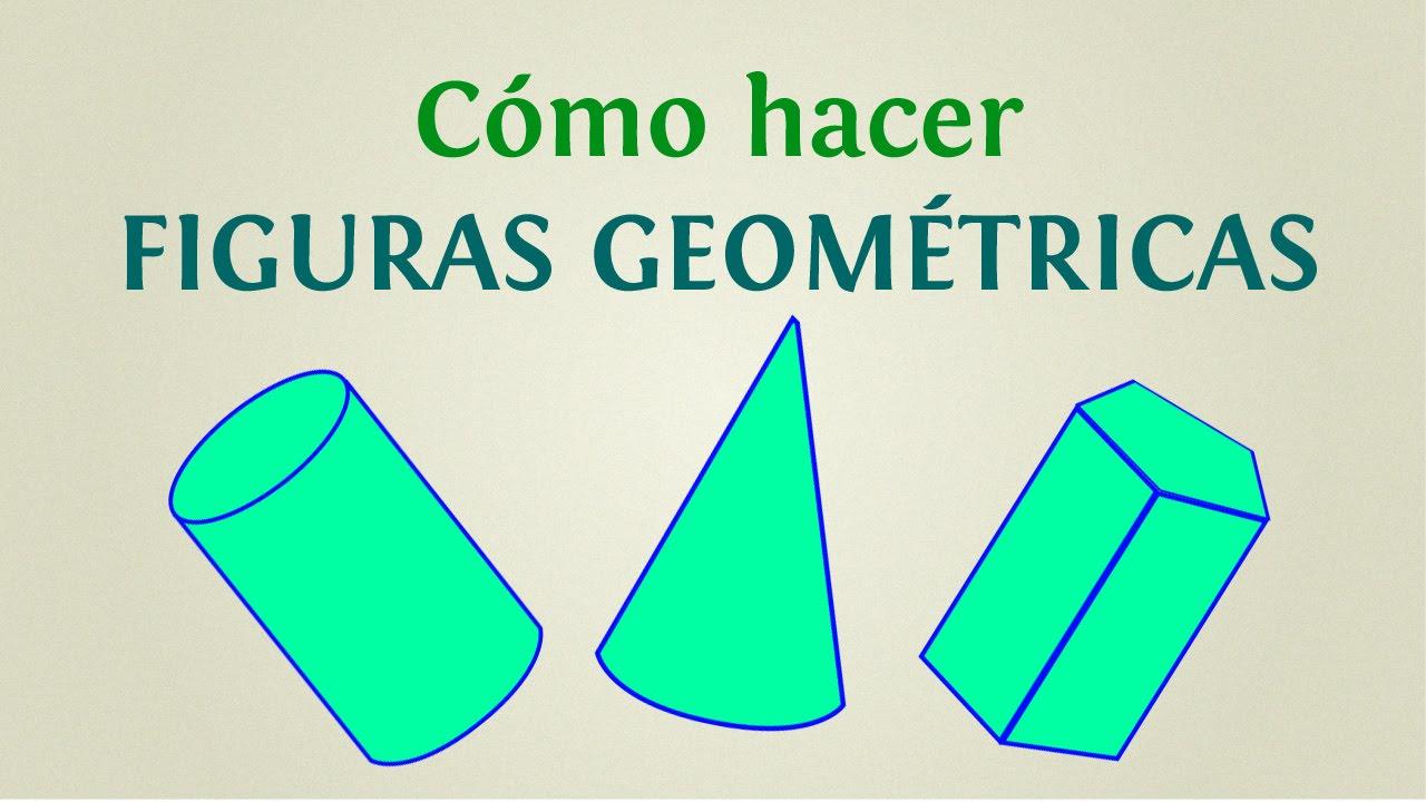 Cómo hacer figuras geométricas: 5 formas tridimensionales para ...