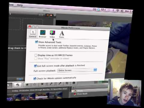 how to use imovie green screen
