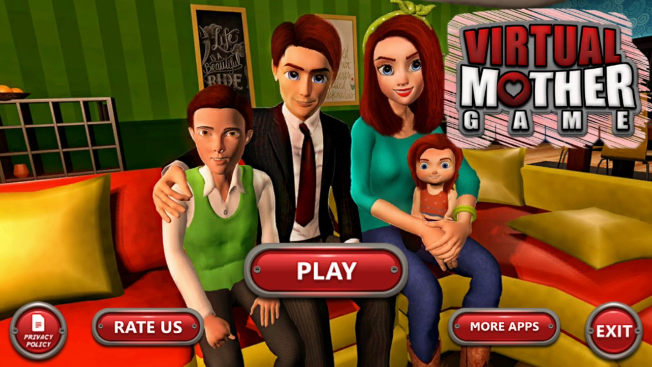 Virtual Mother Game  Family Mom Simulator  by Trend Entertainment     Virtual Mother Game  Family Mom Simulator  by Trend Entertainment Games     Android Gameplay HD