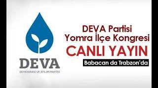 Ali Babacan Trabzon'da / Yomra İlçe Kongresi