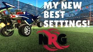 Using JSTNs Camera + Controller Settings - Rocket League (BEST SETTINGS)