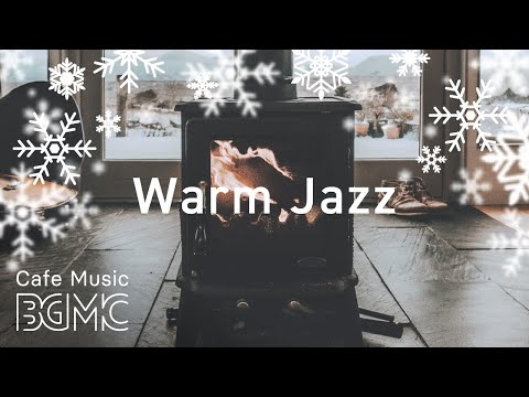 🎄⛄️ Christmas Songs Cover Medley with Fireplace - Winter Silent Jazz Music for Christmas Mood