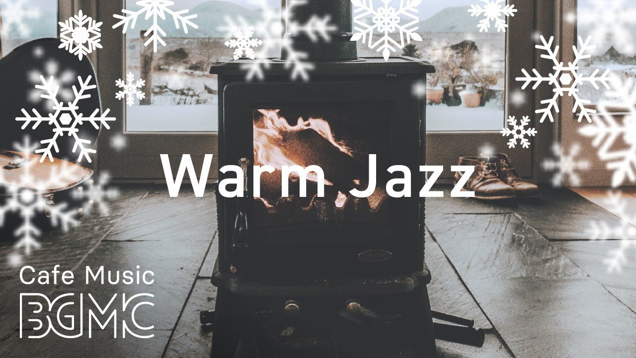 Christmas Songs Cover Medley with Fireplace - Winter Silent Jazz Music for Christmas Mood