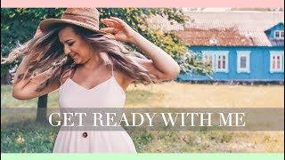 GET READY WITH ME - MAKIJAŻ/WŁOSY/OOTD | lamakeupebella