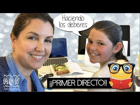 ¡¡PRIMER DIRECTO en MON PARA LOS AMIGOS!! Haciendo los deberes y Últimas Noticias