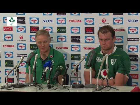 Irish Rugby TV: Japan 22 Ireland 50 - Post-Match Press Conference