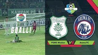 Download Video Goal! Wilfried Yessoh - PSMS (1) vs (0) Arema FC   Go Jek Liga 1 Bersama Bukalapak MP3 3GP MP4