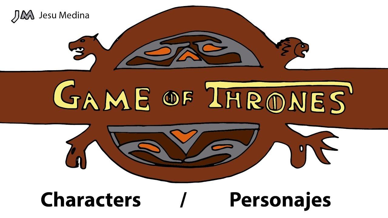 Worksheet. Game of Thrones Characters Drawn  Personajes de Juego de Tronos