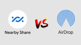 So sánh Android Nearby Share (beta) với AirDrop Beta