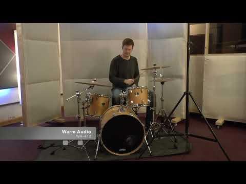 AML ez1081/1073 Microphone Preamp Shootout - Mono Drums
