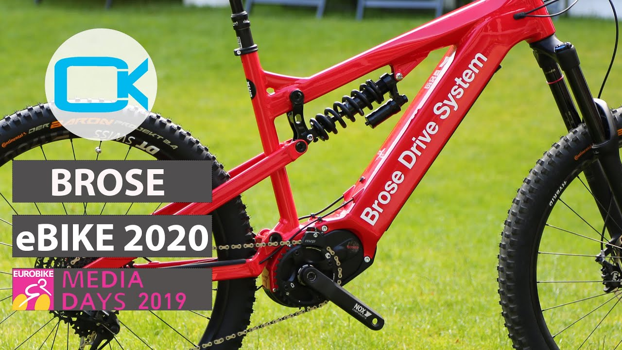 Brose Drive System 2020 - Eurobike Media Days 2019