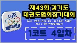 [1코트/4일차] 제43회 경기도태권도협회장기대회 제5…