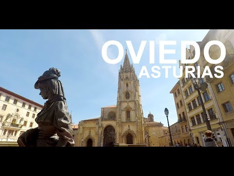 Video about The historical center of Oviedo