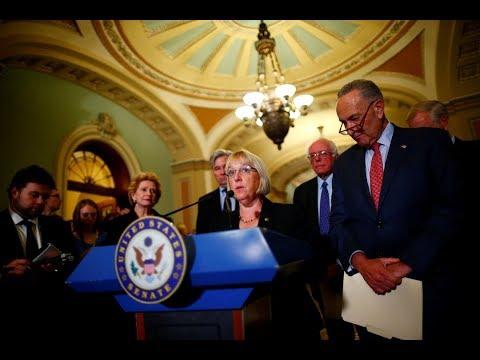 WATCH LIVE: Democratic senators discuss future of Affordable Care Act