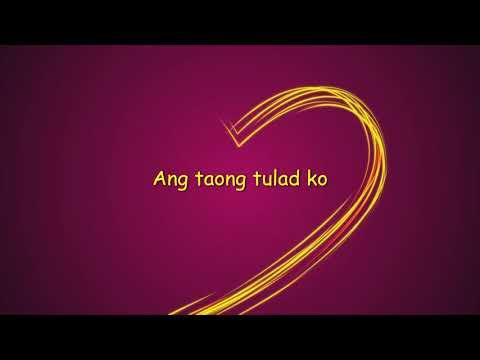 Ang Tanging Alay Ko lyrics (karaoke)
