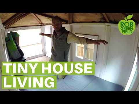 Tiny House Living | Welcome to the Teeny Greeny!