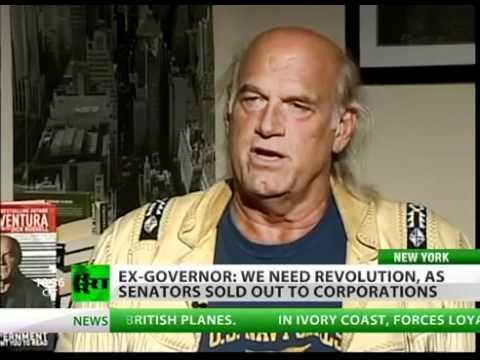 Jesse Ventura on Government cover-ups -- full interview