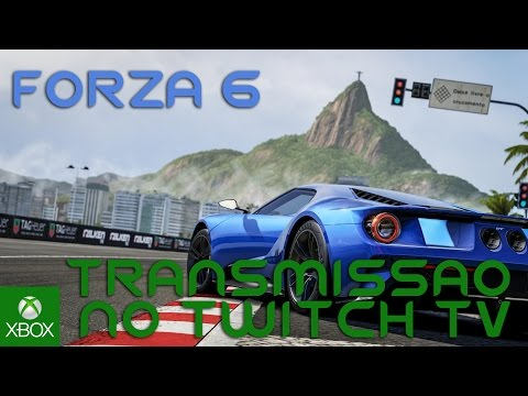 FORZA 6 - LIVE NO TWITCH TV - SIGA O CANAL LÁ