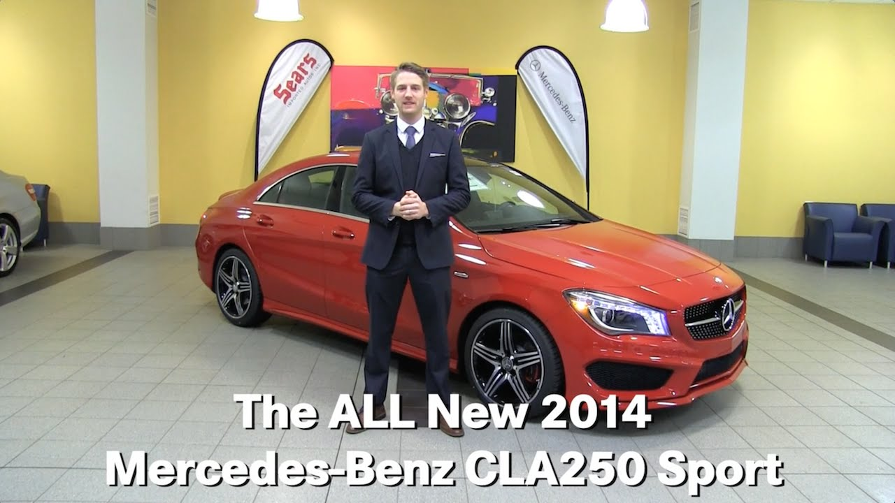 The all new 2014 mercedes benz cla250 sport 4matic cla for Mercedes benz bloomington mn