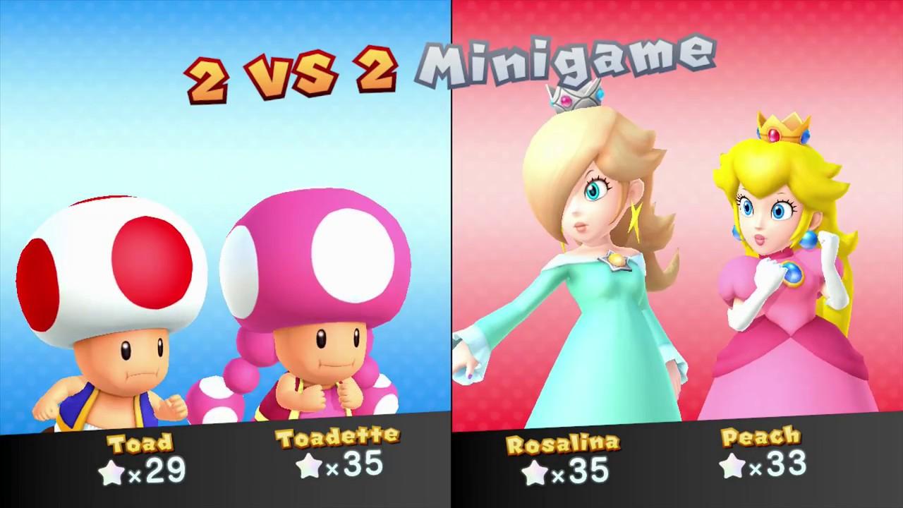 Mario Party 10 Mario Party #171 Peach vs Toadette vs ...