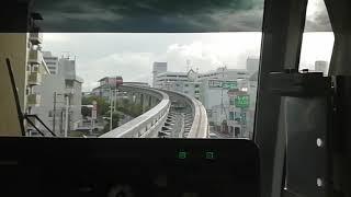 沖縄都市モノレール首里~てだこ浦西間延伸全面展望#ゆいれーる#てだこ