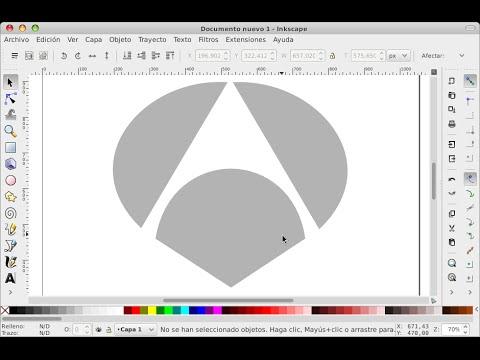 C mo hacer el logo de antena 3 en inkscape youtube for Antena 3 online gratis
