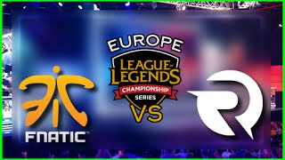 FNATIC vs ORIGEN - LA PLUS BELLE GAME DU SPLIT!  - LCS Saison 5 Summersplit W7D2 Avec Max & Kassor