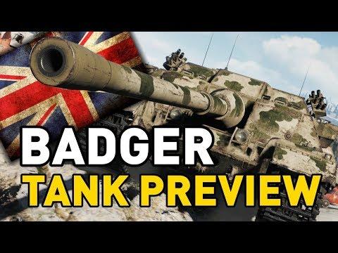 World of Tanks || FV217 Badger - Tank Preview