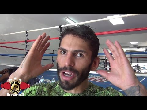 JORGE LINARES TALKS ABOUT GENNADY GOLOVKIN AND BEING THE UNDERDOG VS ANTHONY CROLLA